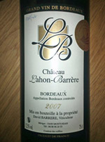 Bordeaux Rotwein