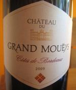 Chateau du Grand Moueys Bordeaux 2009