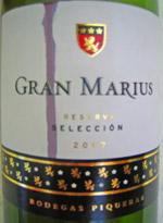 Gran Marius Reserva 2007
