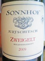 Sonnhof Jurtschitsch Zweigelt 2009