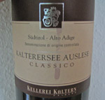 Kaltersee Auslese 2010