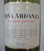 La Rioja Alta Vina 2001