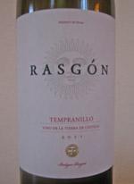 Rasgon Tempranillo 2011