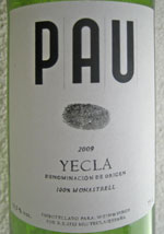 Pau Tino Yecla 2009