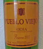 Pueblo Viejo Rioja Reserva 2007