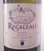Rotwein Regaleali Rosso Sicilia 2010