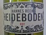 Hannes Reeh Heideboden 2012 Rot