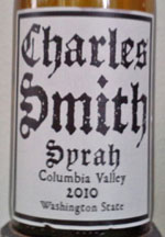 Charles Smith Syrah Columbia Valley