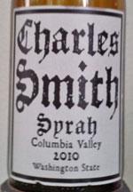 Charles Smith Syrah Columbia Valley