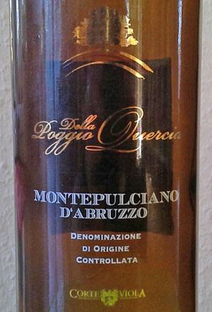 Montepulciano d'Abruzzo Poggio della Quercia
