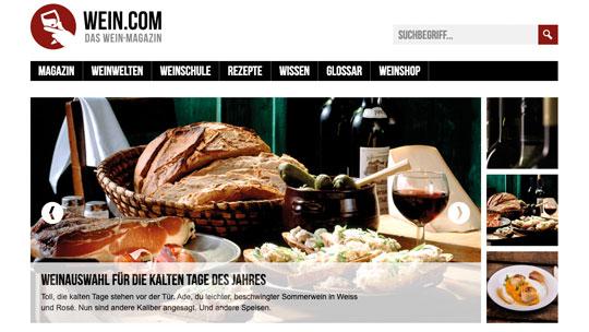 wein.com – der Relaunch