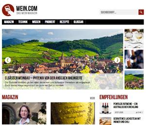 Wein Magazin wein.com