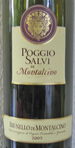 Poggio Salvidi di Montalcino Brunello 2005