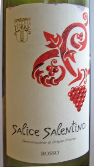 Salice Salentino Rosso 2010 Vecchia Torre