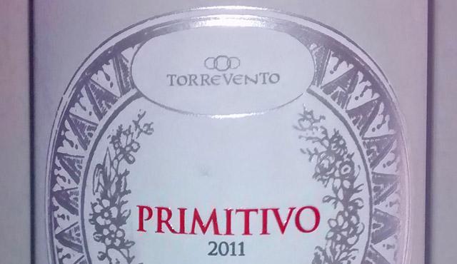 Torrevento Primitivo 2011 Rosso Puglia