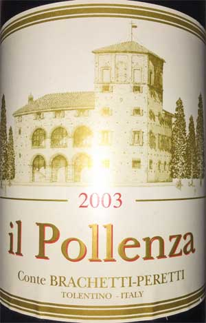 Conte Brachetti Peretti Il Pollenza 2003