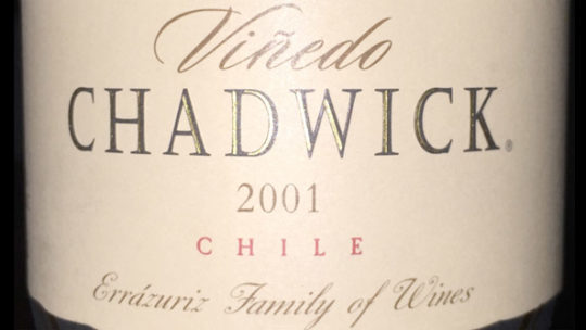 Viñedo Chadwick 2001