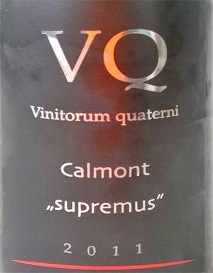 Calmont supremus 2011 Vinitorum Quaterni