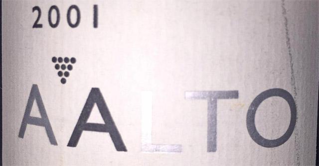 Bodegas Aalto Ribera del Duero 2001