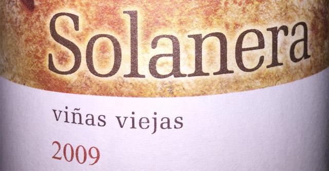 Bodegas Castaño Solanera 2009 Viñas Viejas