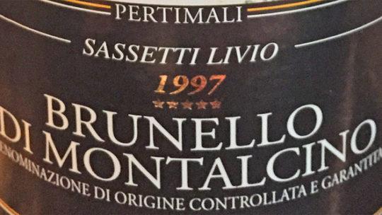 Livio Sassetti Brunello di Montalcino 1997
