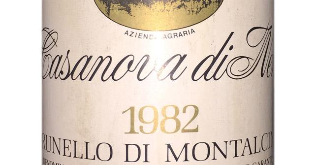 Casanova di Neri Brunello di Montalcino 1982