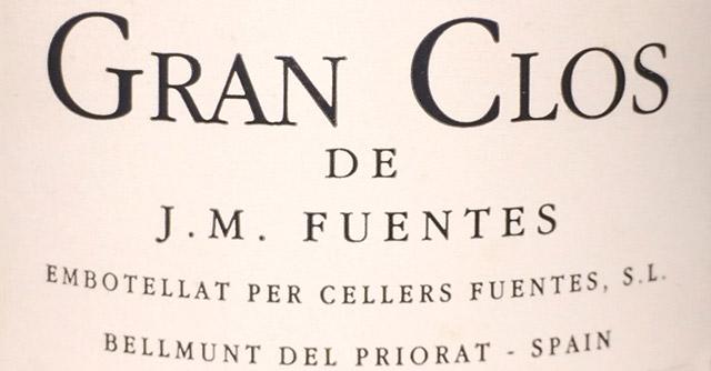 Gran Clos de J.M. Fuentes 1999