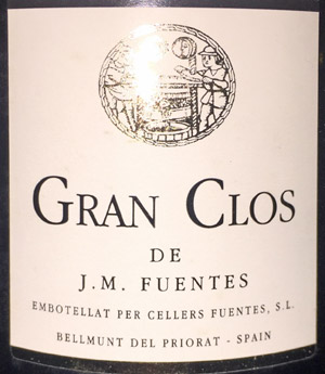 Gran Clos Priorat Fuentes 1999