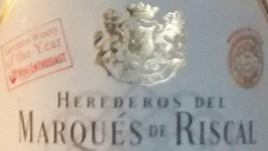 Herederos del Marqués de Riscal 2010