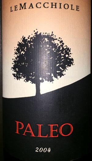 Le Macchiole Paleo Rosso 2004