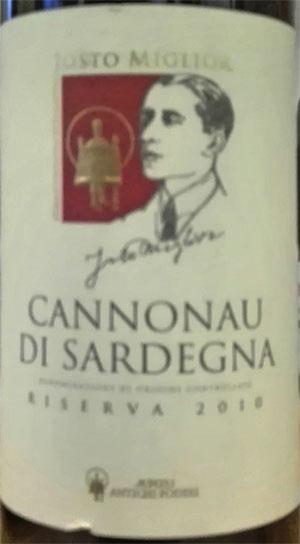 Josto Miglior Cannonau di Sardegna 2010