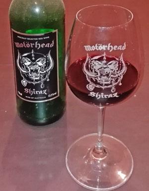 Motörhead Wein Shiraz 2010