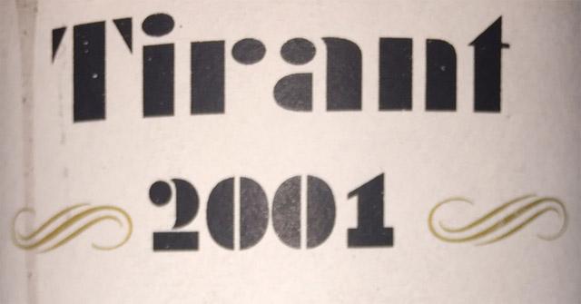 Rotllán Torra Tirant 2001