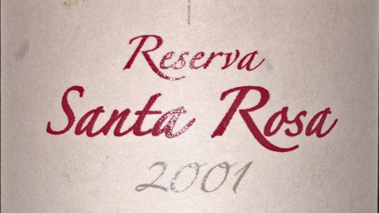 Santa Rosa Reserva 2001