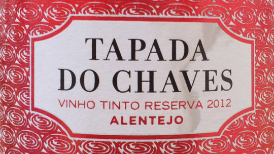 Tapada do Chaves Reserve Alentejo 2012