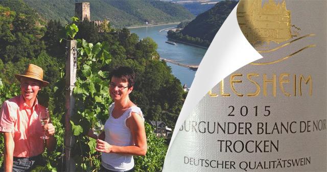 Hillesheim Spätburgunder Blanc de Noir 2015
