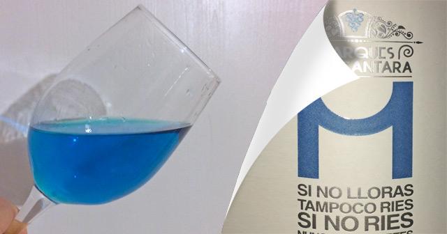 Marqués de Alcantara – Vino Azul – Blauer Chardonnay