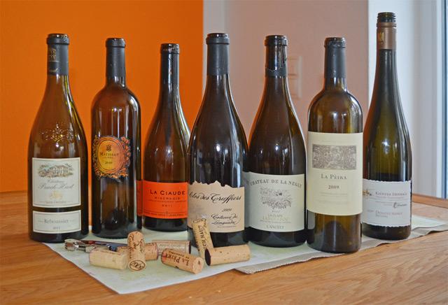 Redaktionstasting Languedoc-Roussillon