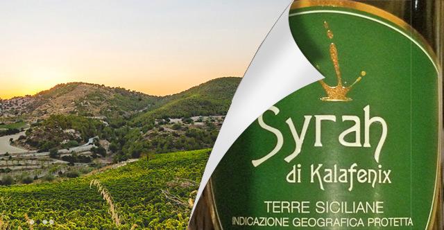 Sizilien Teil 3 – Syrah di Kalafenix 2012