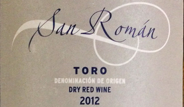 San Román Toro 2012
