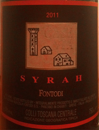 Fontodi Case Via Syrah 2011